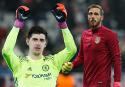 Thibaut Courtois-Jan Oblak