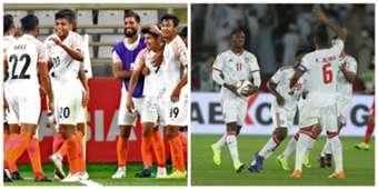India UAE collage