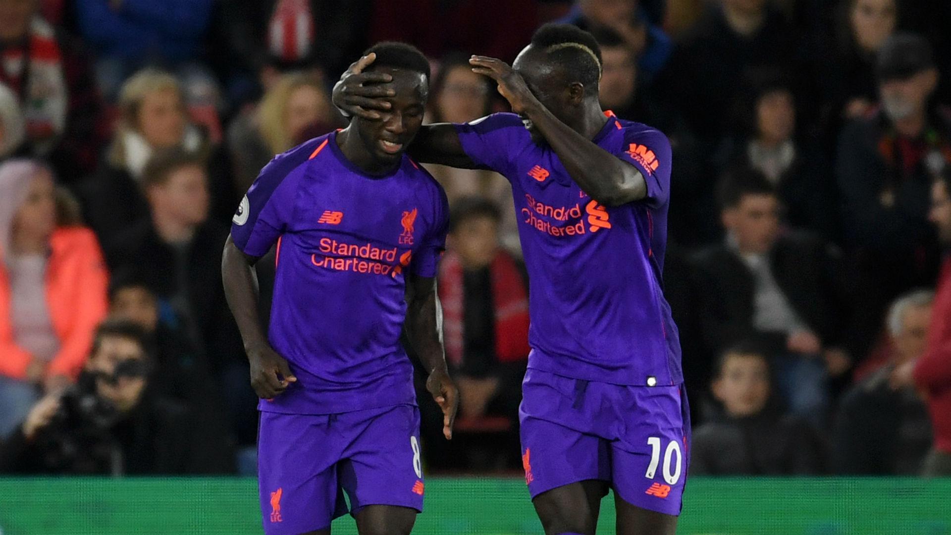 Naby Keita Sadio Mane Liverpool Southahmpton Premier League 2019