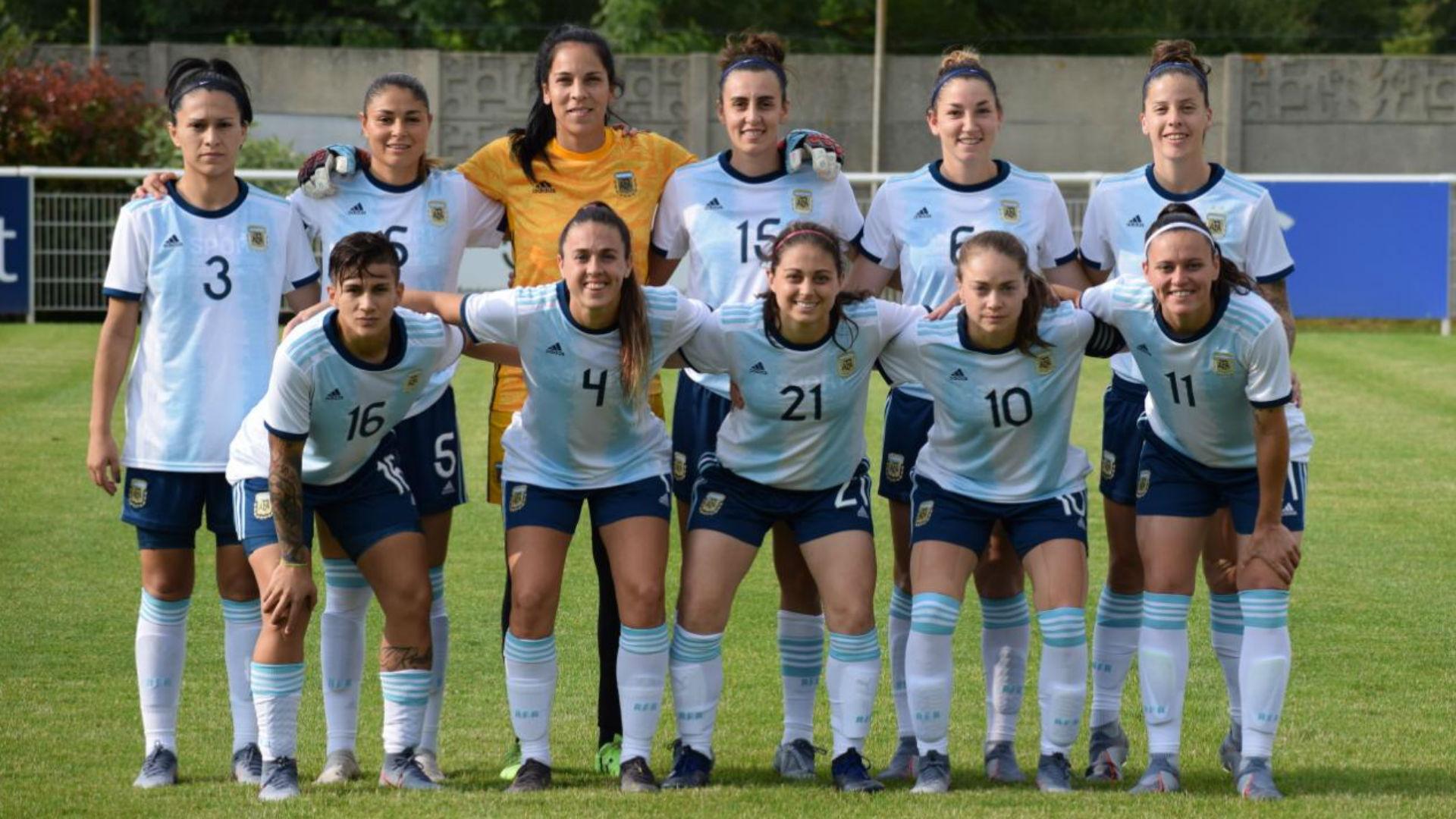 Seleccion argentina femenina junio 2019