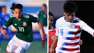 Diego Lainez Alex Mendez Concacaf 2
