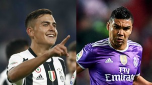 Dybala & Casemiro Collage