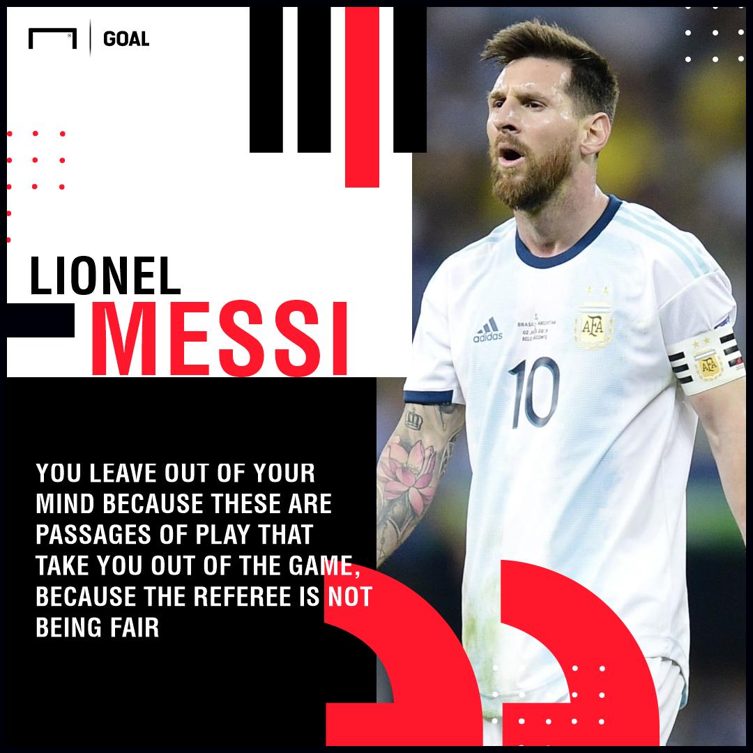 Lionel Messi, Brazil v Argentina, Copa America