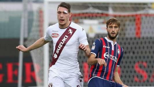 Crotone-Torino 0-2: Canta il Gallo Belotti tra le proteste calabresi