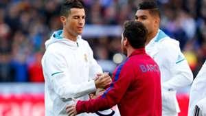 Cristiano Ronaldo Lionel Messi 23122017