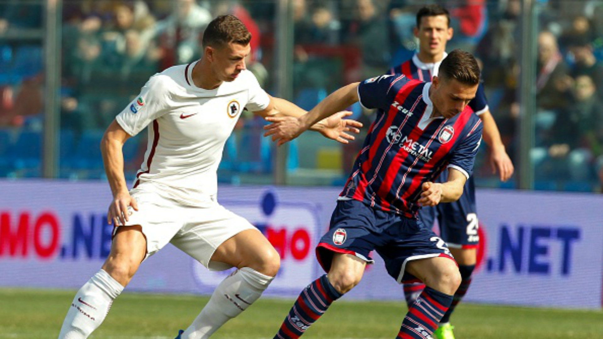 Edin Dzeko Crotone Roma Serie A