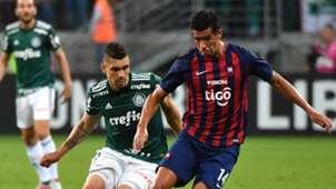 Moises Victor Caceres Palmeiras Cerro Porteno Copa Libertadores 30082018
