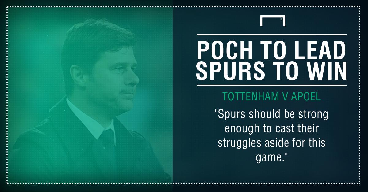 Spurs APOEL graphic