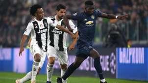 Juan Cuadrado, Sami Khedira Paul Pogba Juventus Manchester United