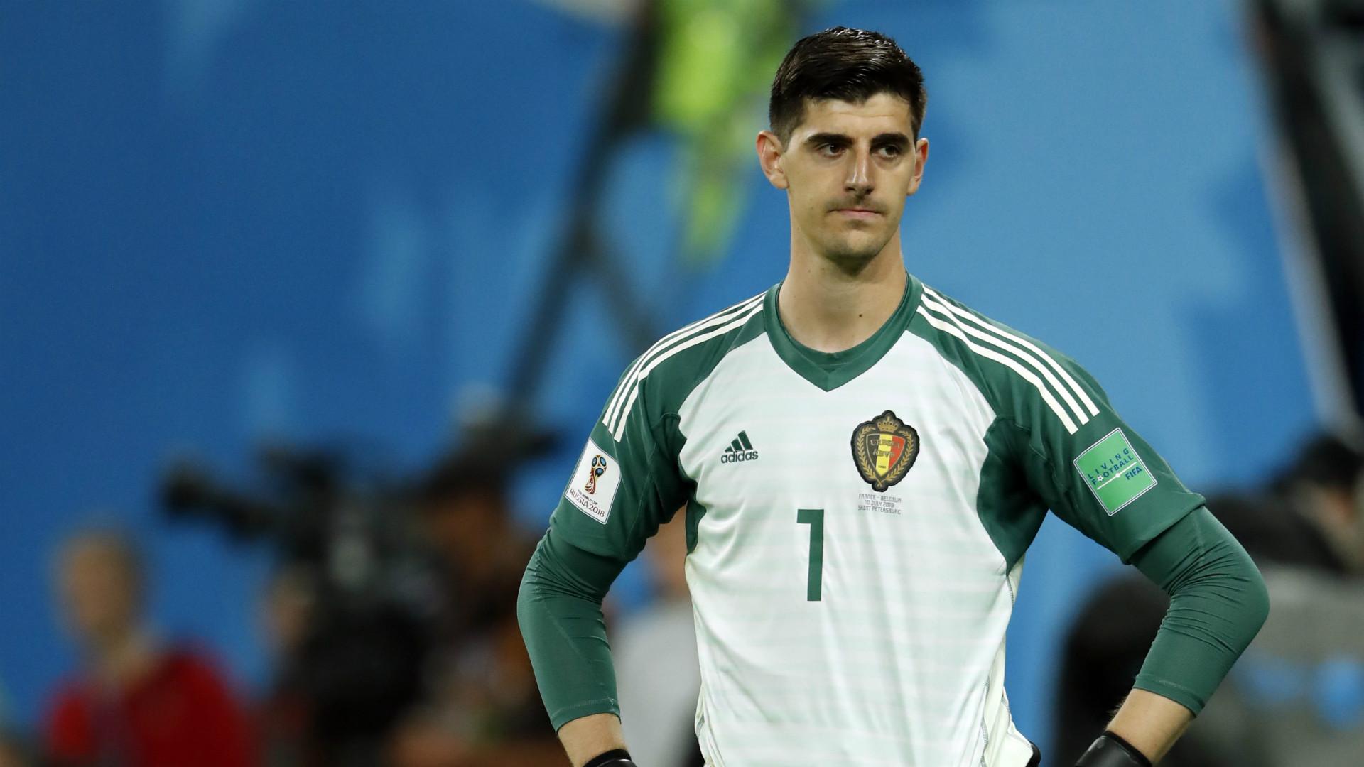 France Belgium World Cup 2018 Thibaut Courtois