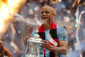The perfect captain! Kompany joined Man City as a leader and returns as a legend