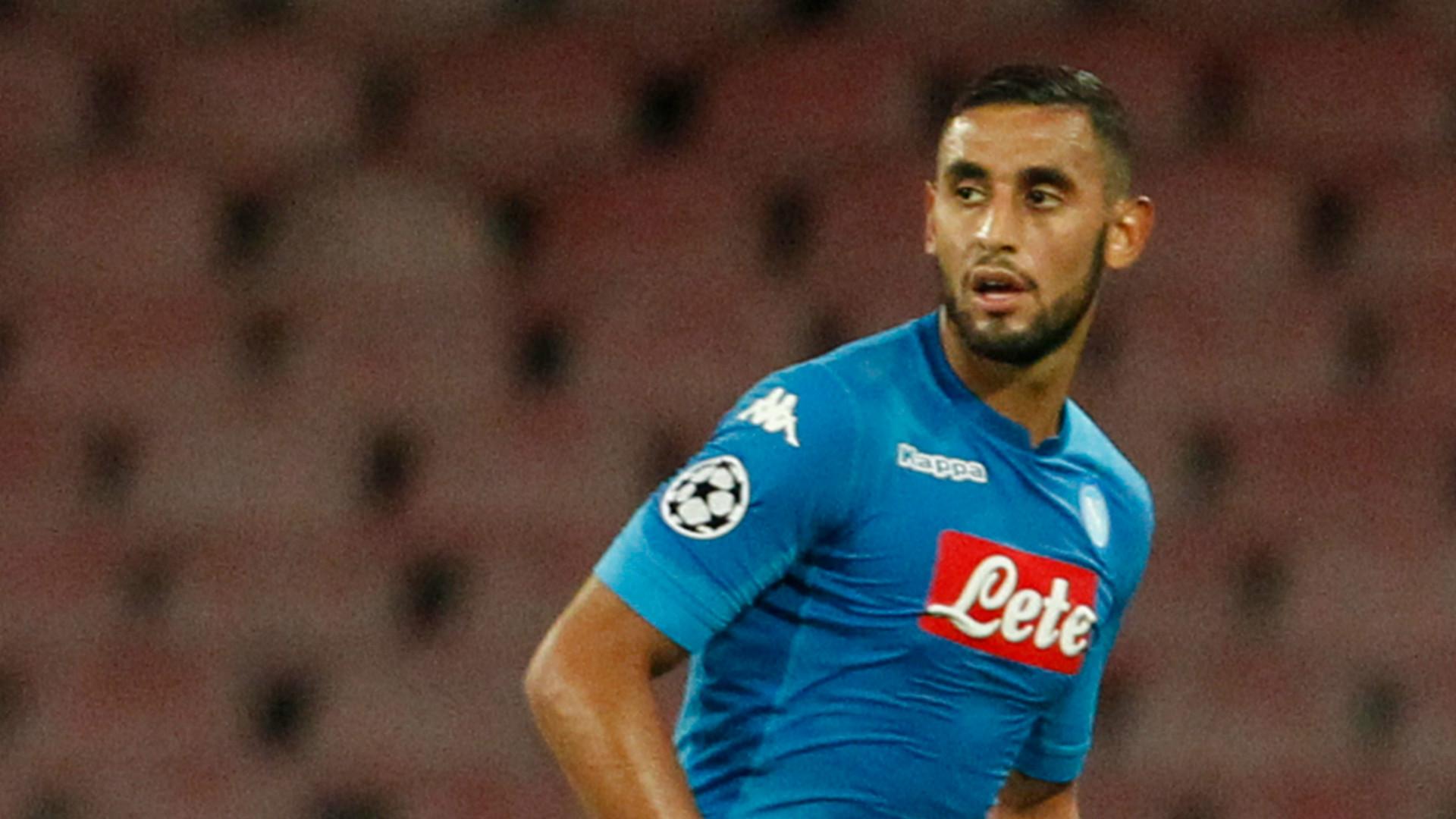 Faouzi Ghoulam, Napoli, Feyenoord, UEFA Champions League, 26092017