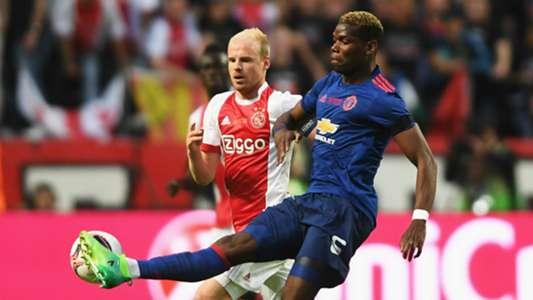 Davy Klaassen Ajax Paul Pogba Manchester United