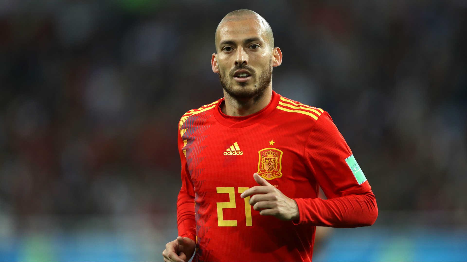 Image result for ซิลบาประกาศลาทีมชาติสเปน