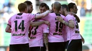 Palermo celebrating