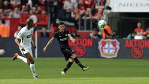 140418 Charles Aránguiz Bayer Leverkusen Eintracht Frankfurt