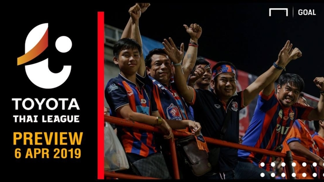 ผลการค้นหารูปภาพสำหรับ TOYOTA THAI LEAGUE PREVIEW : นัดที่ 7 (วันเสาร์ ที่ 6 เมษายน 2019)
