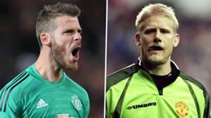 David de Gea Peter Schmeichel Man Utd