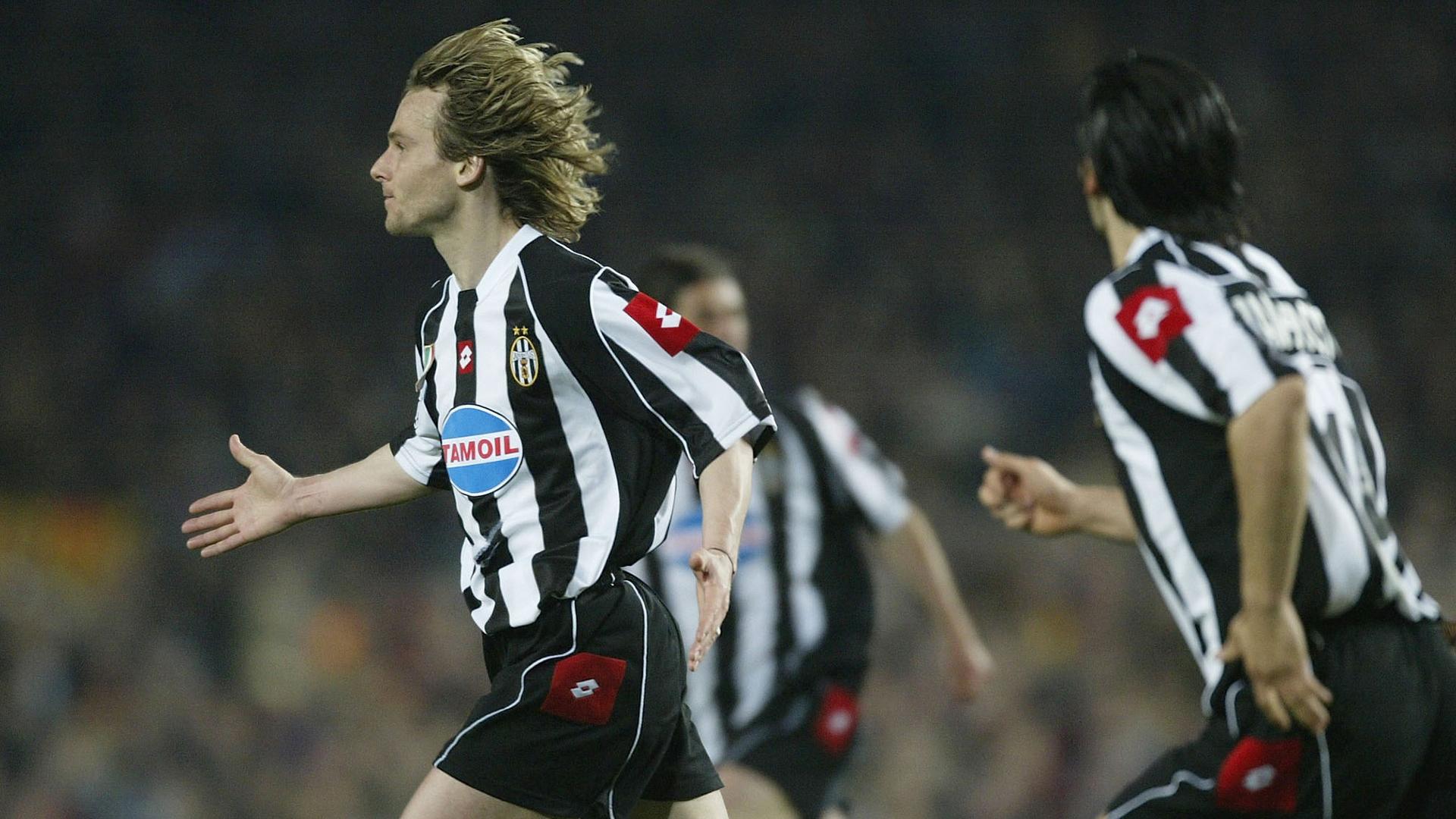 Pavel Nedved Juventus Barcelona 2003