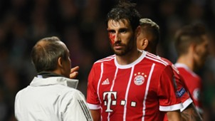 Javi Martinez Celtic Bayern Munchen Champions League 311017