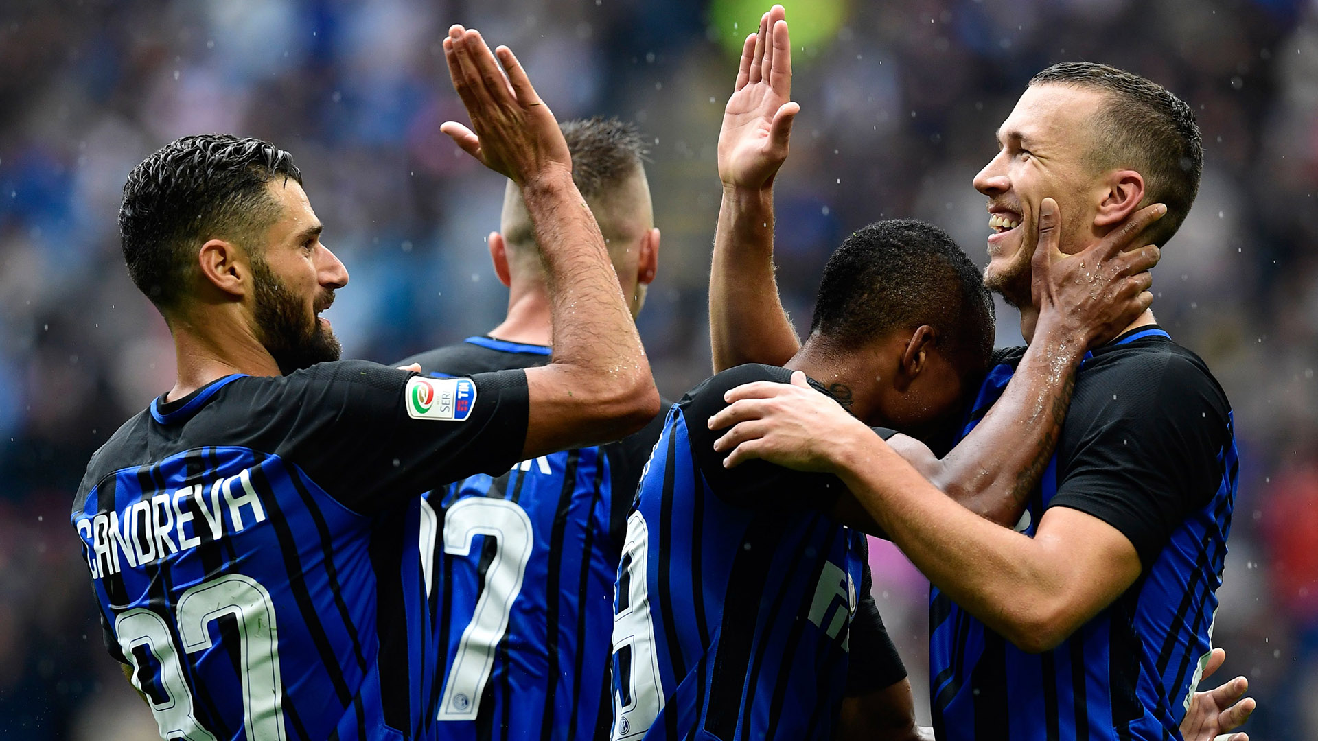 Candreva Perisic Inter SPAL Serie A