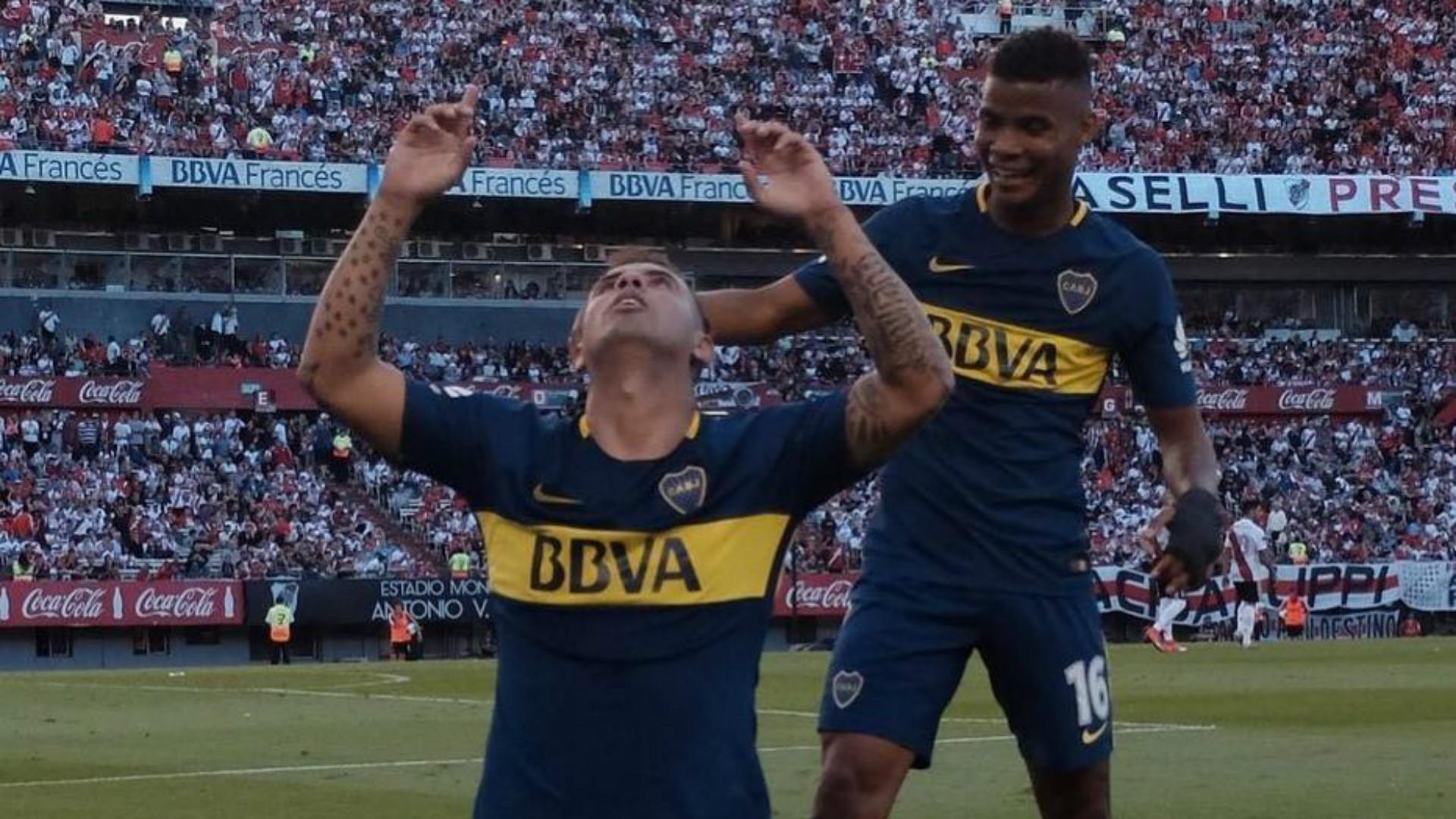 Cardona Barrios River Boca Superliga Argentina