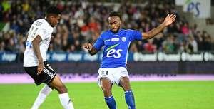 Amiens, Bongani Zungu against Strasbourg