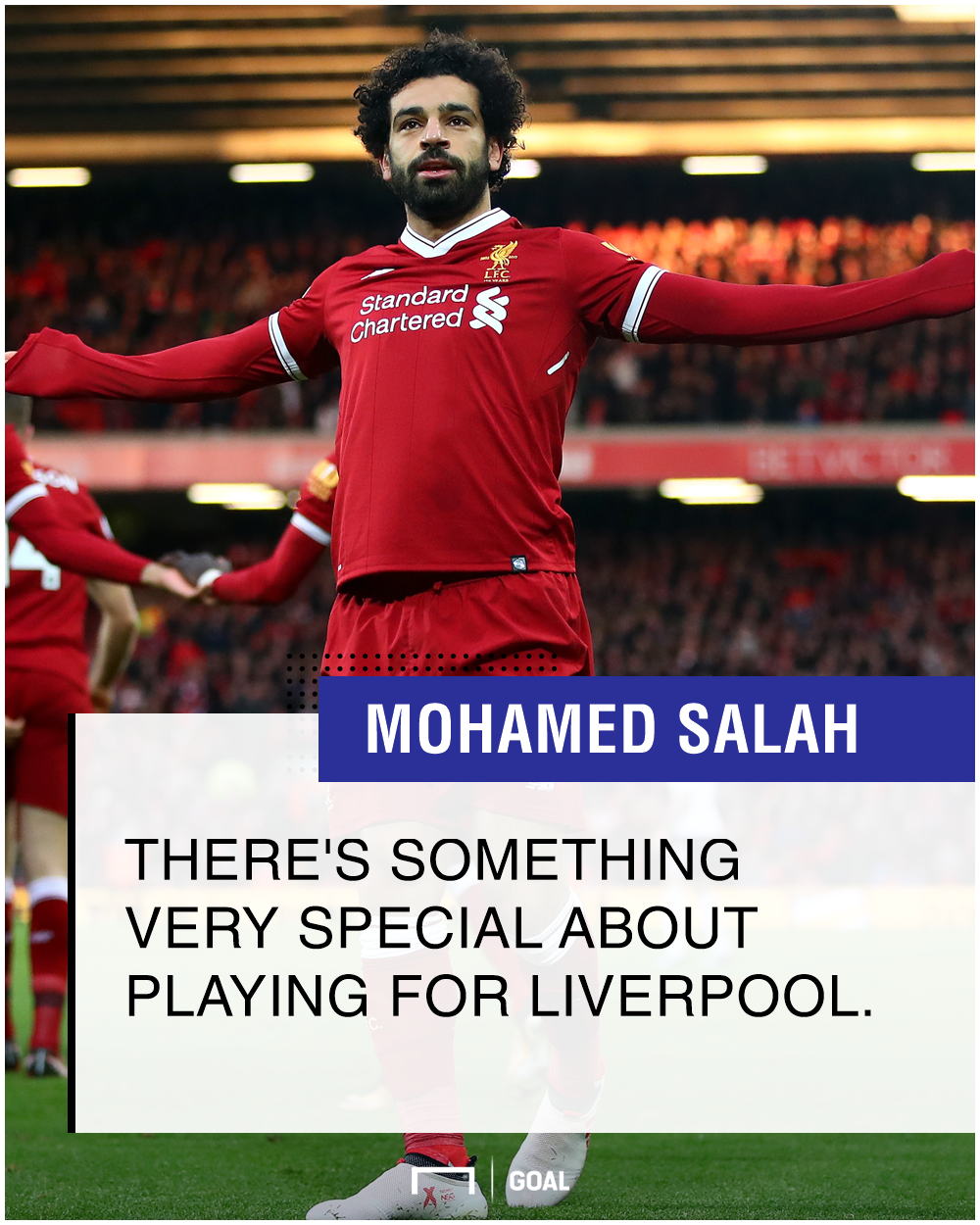 Mohamed Salah special to play for Liverpool