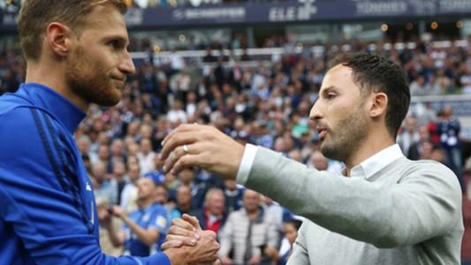 Benedikt Höwedes, Domenico Tedesco, Schalke - RB Leipzig, 08192017