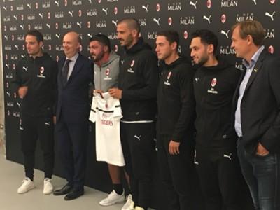 Maglia trasferta Milan 2018 2019