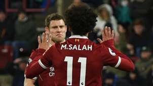 James Milner Mohamed Salah Liverpool