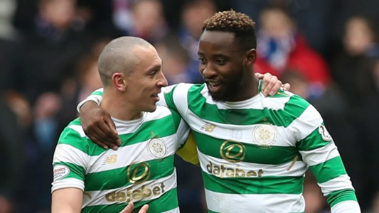 Scott Brown Moussa Dembele Celtic