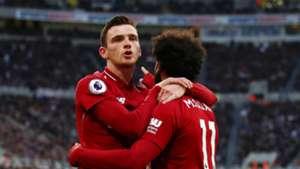 Andy Robertson Mo Salah Liverpool