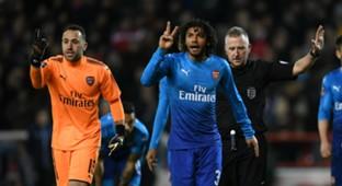 David Ospina Mohamed Elneny Arsenal Nottingham Forest