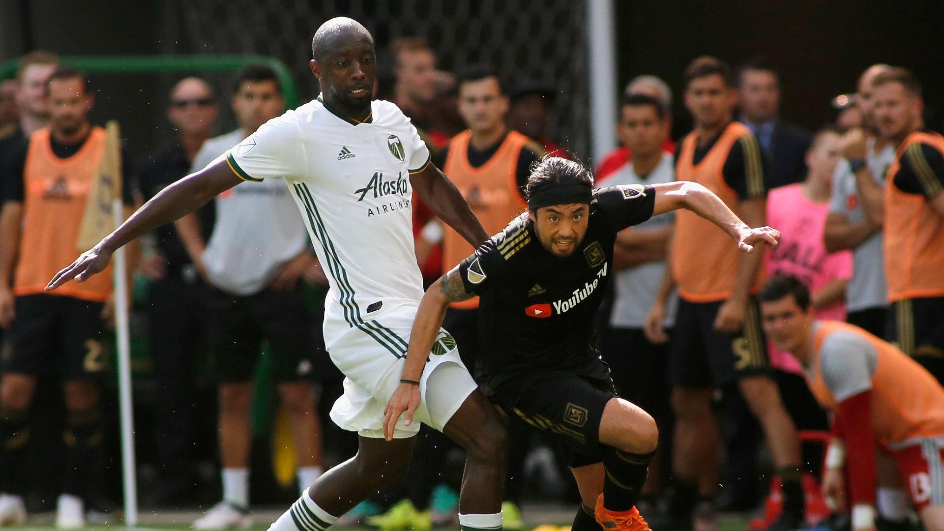 Lawrence Olum Lee Nguyen Portland Timber LAFC MLS 2018
