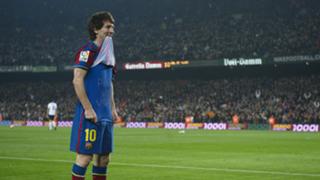 Lionel Messi Valencia La Liga 2010