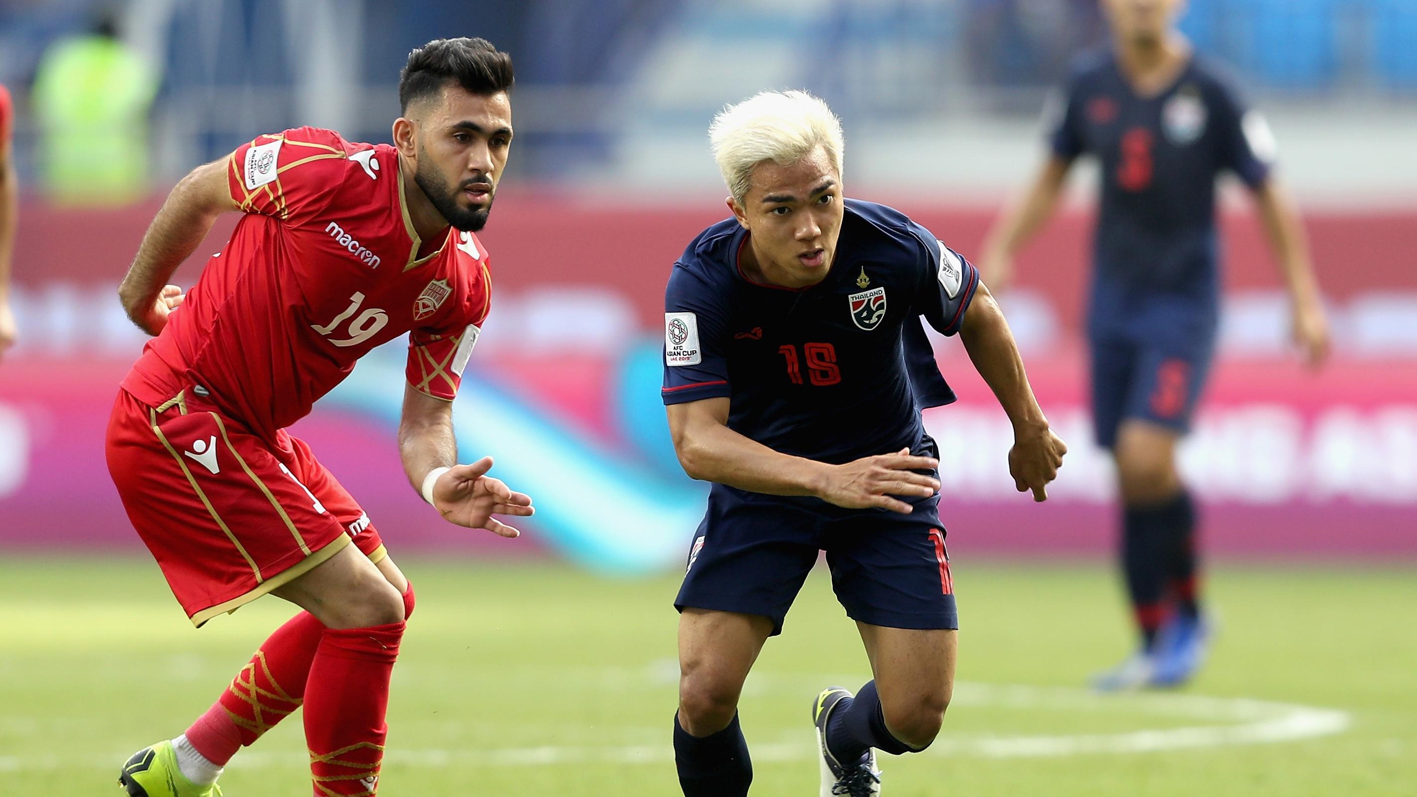 Chanathip Songkrasin Thailand Bahrain Asian Cup 2019