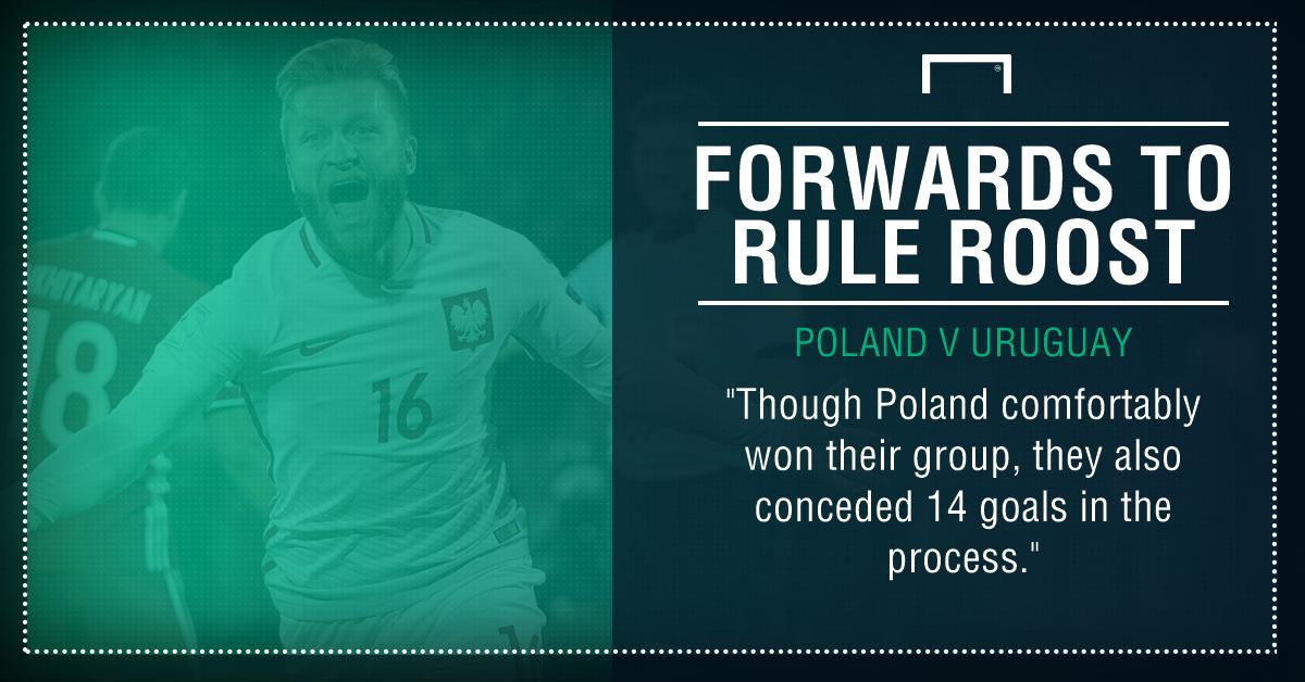 Poland Uruguay graphic