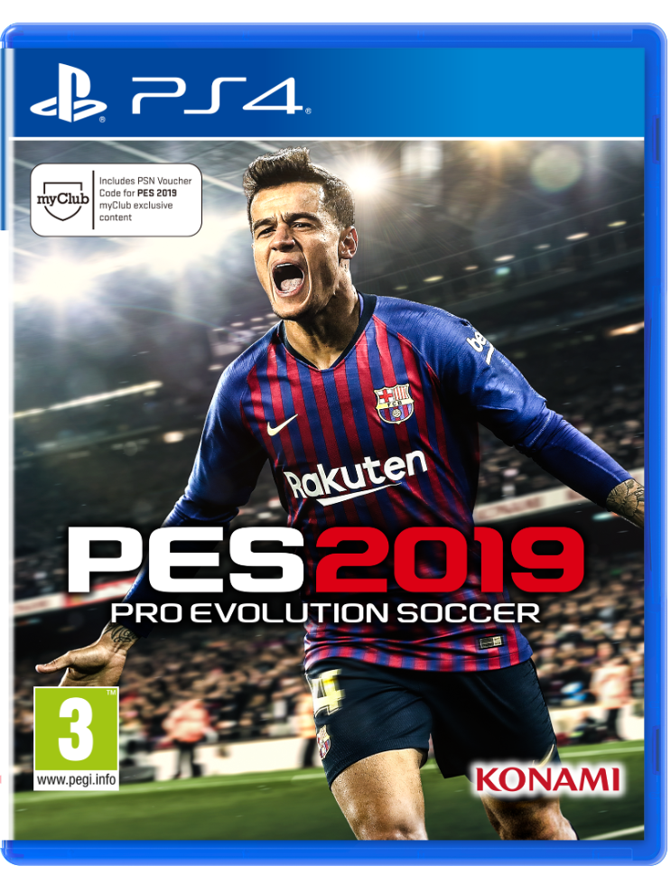 Embed only PES 2019 Cover