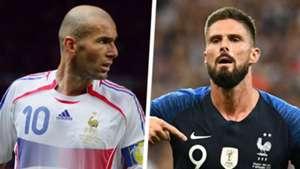 Zinedine Zidane Olivier Giroud Split