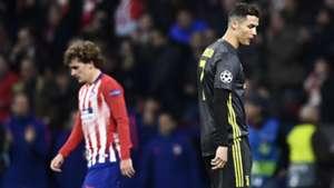 Cristiano Ronaldo Atletico Madrid Juventus Champions League