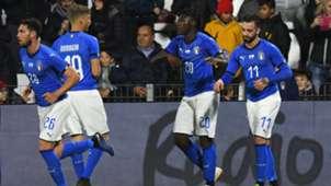 Moise Kean goal Italy England Under 21