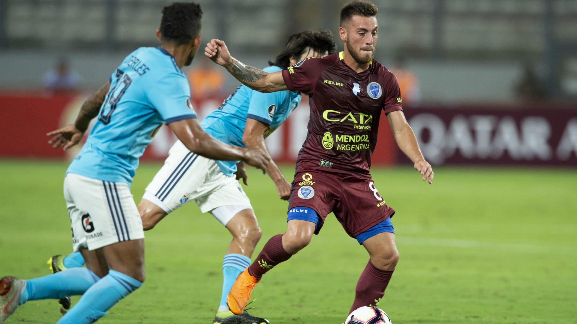 Angel Gonzalez Godoy Cruz Sporting Cristal Copa Libertadores 12032019
