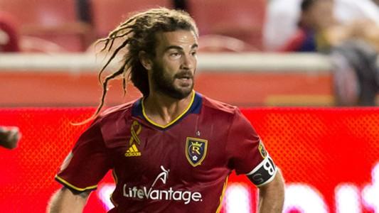 Kyle Beckerman Real Salt Lake MLS 091716