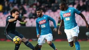 Bereszynski Insigne Napoli Sampdoria Serie A