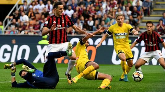 Kalinic Milan Udinese Serie A