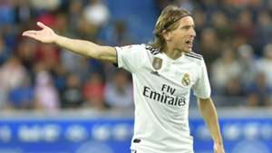 MODRIC ALAVES REAL MADRID LALIGA