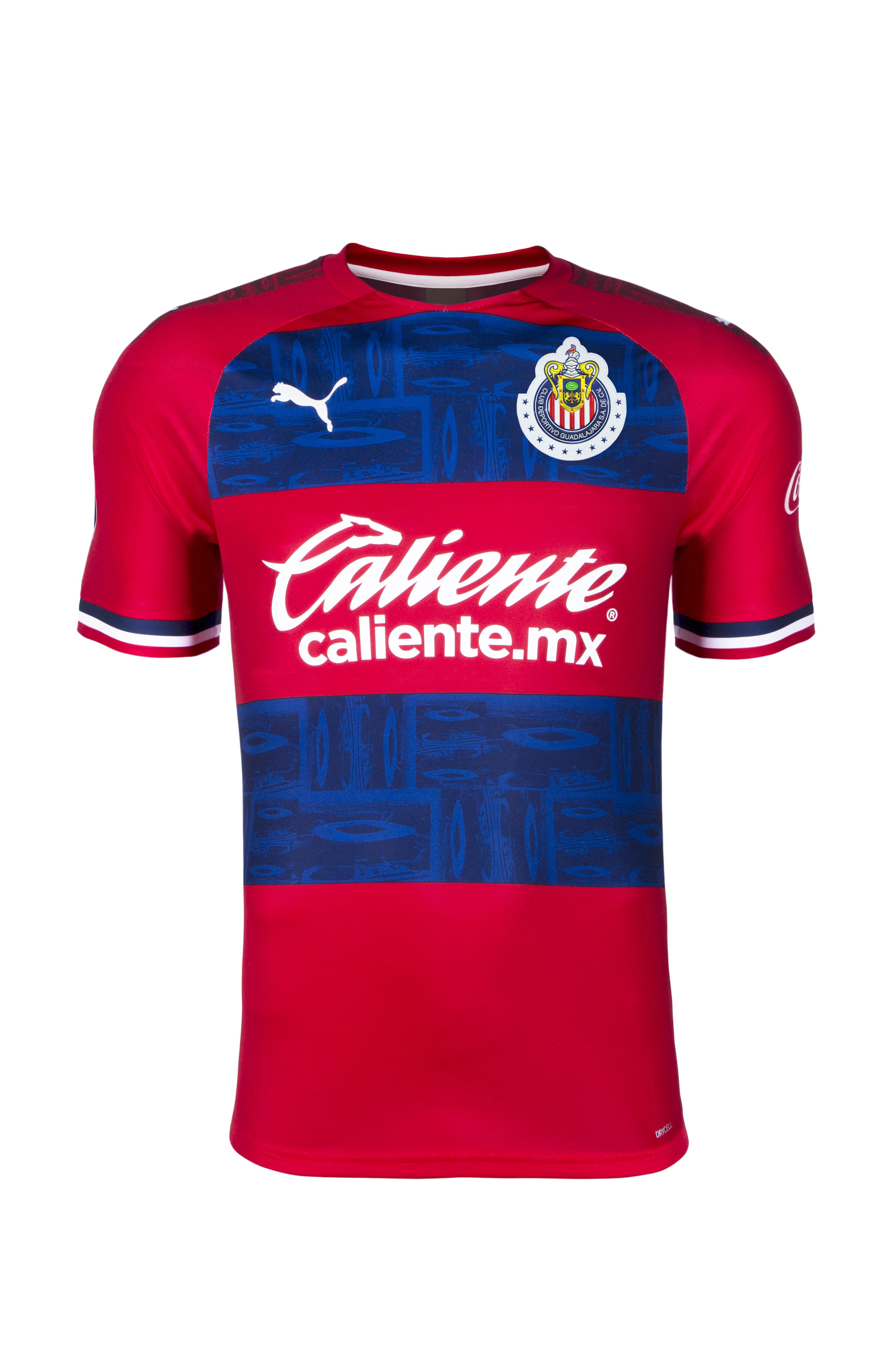 Chivas visitante playera Apertura 2019