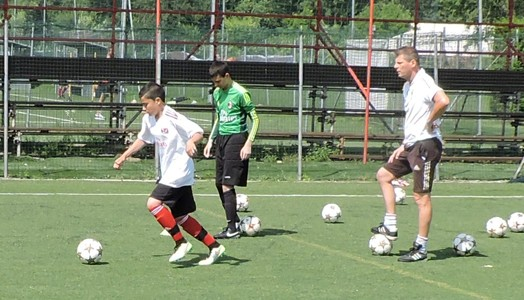 Danilo at AC MILAN Academy Clinic