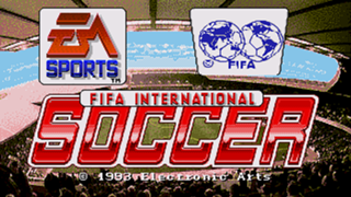 FIFA International Soccer 94 title card
